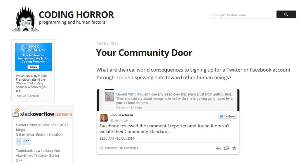 BlogCodingHorror