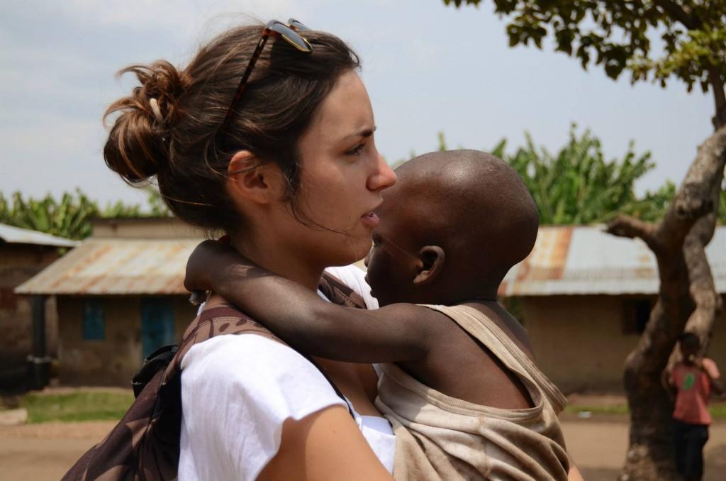 Voluntaria en Campo de Trabajo (África)
