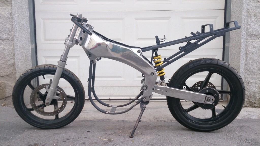 Figura 2. Aprilia RS 50. Motocicleta donde irá montado el sistema