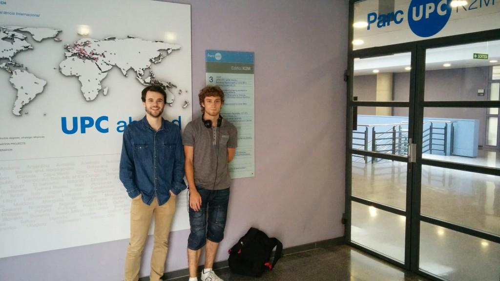 Juen y Aimar, en la sede de ROAWDS
