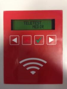 Dispositivo hardware que realiza el envío de la medida de PCT del paciente